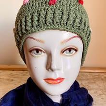 Handwoven Cap | Green