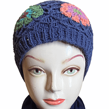 Knotted  Handwoven Cap