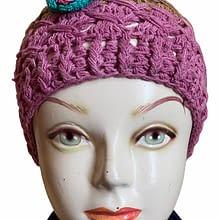 Flower Handwoven Cap