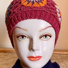 Handwoven Cap | Mild Pink