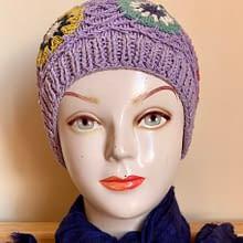 Handwoven Cap | Light Purple