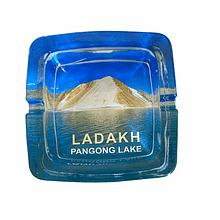 Pangong Lake  astray | Ashtray | Glass Transparent