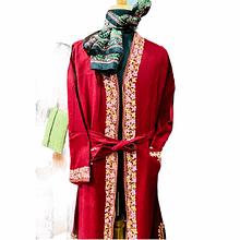 Men long woolen govern | winter wear | Embroidery